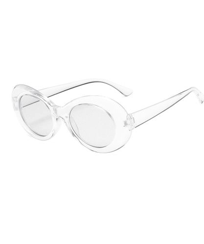 CURT GLITTER SUNGLASSES(WHITE)