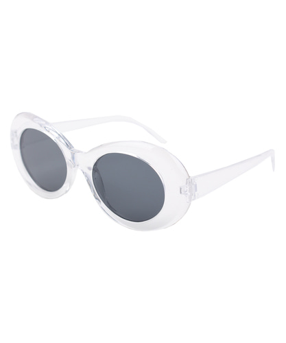 Kurt Cobain REDSUNGLASSES (CLEAR)