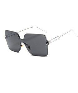 SQUARE SUNGLASSES (BLACK)