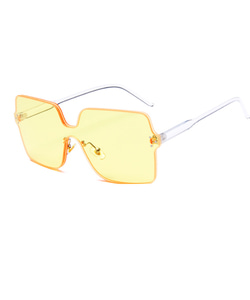 SQUARE SUNGLASSES (YELLOW)