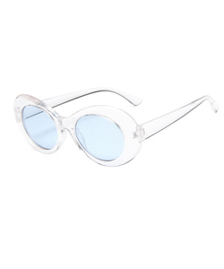 CURT GLITTER SUNGLASSES (WHITE_BLUE)